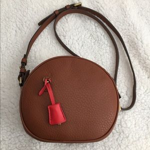 J. Crew circle bag in Italian leather